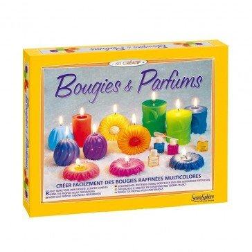 Kit de créations de bougies parfumées - Sentosphère