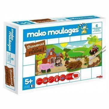 Kit Mako moulages Ferme - Mako Moulages