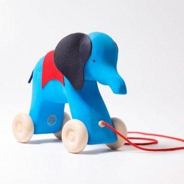 L'éléphant à traîner Otto de Grimm's - Grimm's