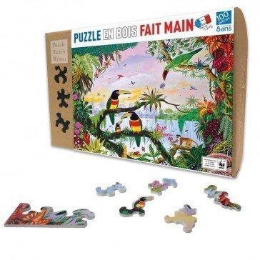 Puzzle La Jungle 100 pcs - Puzzle Michèle Wilson