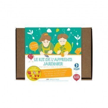 Kit de l'Apprenti Jardinier - Les Petits Radis