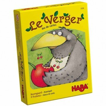 Le verger jeu de cartes - Haba
