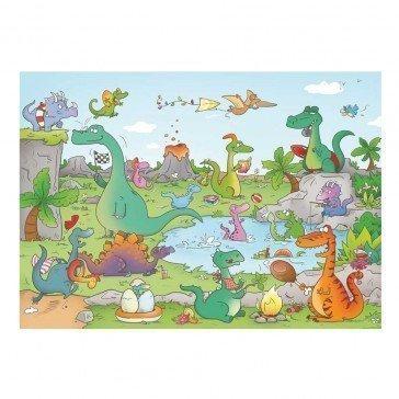 Puzzle Les Dinosaures 24 pcs - Puzzle Michèle Wilson