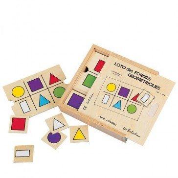 Loto des formes géométriques - JB Bois