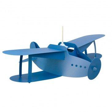 Suspension Avion Biplan bleu - R&M Coudert
