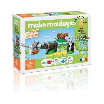 Kit Mako moulages - Espèces Protégées