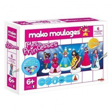 Kit Mako Moulages Princesses - Mako Moulages