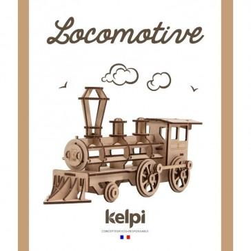 Maquette Locomotive à construire - Kelpi