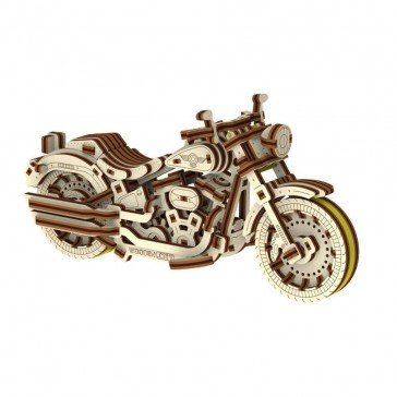 Maquette Puzzle 3D - Cruiser V-Twin - Wooden City