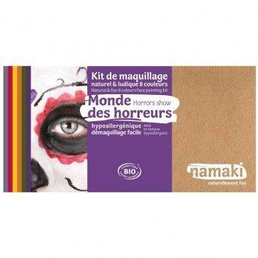 Kit de maquillage 8 couleurs Monde des Horreurs - Namaki