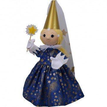 Marionnette Fée bleue - Fabricant Tchèque
