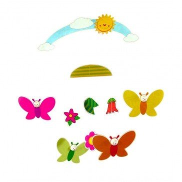 Mobile Fleurs et Papillons - Fabricant allemand