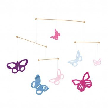 Mobile en bois Papillons - Selecta