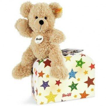 Ours Teddy Finn 23 cm avec sa valise - Steiff