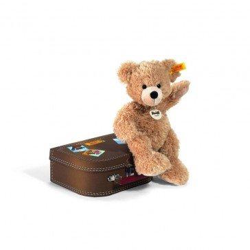 Ours Teddy Fynn dans sa valise - Steiff
