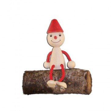Pantin en bois Pinocchio - Artisan du Jura
