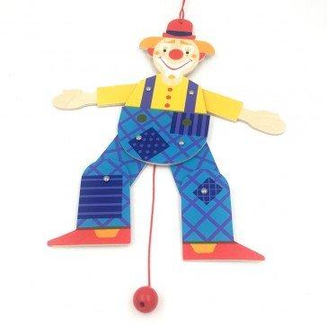 Pantin articulé Jojo le clown 30 cm - Fabricant Allemand