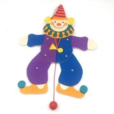 Pantin articulé Mattéo le clown - Fabricant Allemand