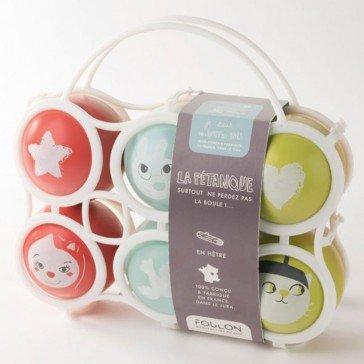 6 Boules de pétanque Paris - Artisan du Jura