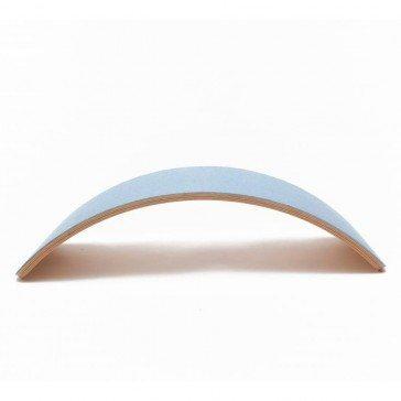Planche d'équilibre WOBBEL Pro avec feutre bleu ciel - Wobbel