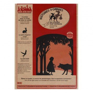 Pochette à histoires d'ombres : Contes merveilleux - Coco d'en Haut