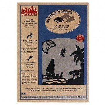 Pochette à histoires d'ombres : Contes Mer - Coco d'en Haut