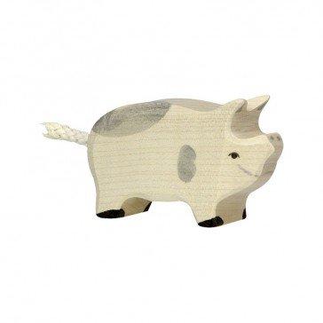 Porcelet tacheté en bois - Holztiger