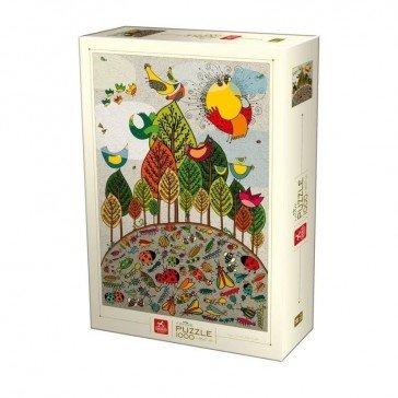 Puzzle 1000 pièces - Nature - D-Toys