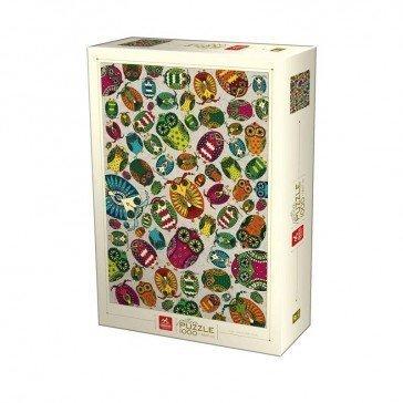 Puzzle 1000 pièces - Oiseaux - DToys