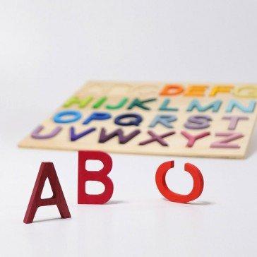Puzzle Alphabet grandes lettres - Grimm's