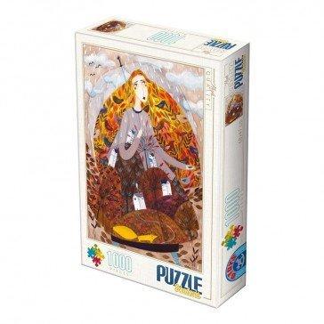 Puzzle 1000 pièces  Kürti Andrea - Automne - Puzzle Dtoys