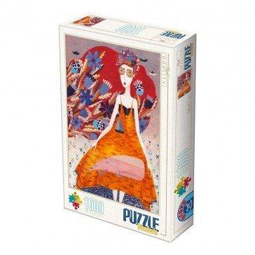 Puzzle 1000 pièces  Kürti Andrea - Été - D Toys
