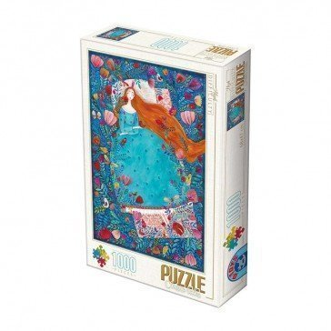 Puzzle 1000 pièces  Kürti Andrea - Sleeping Beauty - D Toys