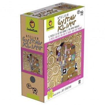 Puzzle et kit créatif Atelier Gustav Klimt - 252 pièces - Ludattica