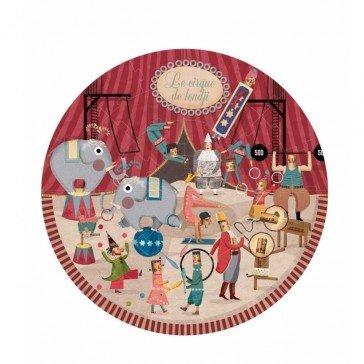 Puzzle rond Cirque - 36 pièces - Londji