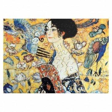 Puzzle en bois La Dame à L'éventail - 100 pièces - Puzzles Michèle Wilson