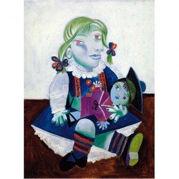 Puzzle en bois Maya à la Poupée - Picasso 12 pièces - Puzzles Michèle Wilson