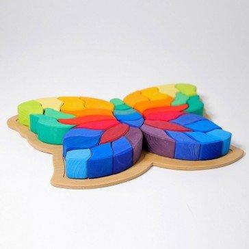 Puzzle Papillon géant - Grimm's