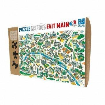 Puzzle Paris Labyrinthes - 100 pièces - Puzzles Michèle Wilson