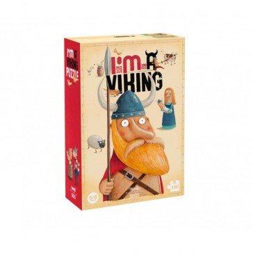 Puzzle 100 pièces Je suis un Viking - Fabricant Espagnol