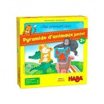 Ma première pyramide d'animaux junior - Haba