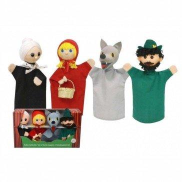 4 Marionnettes Chaperon Rouge - Fabricant Tchèque