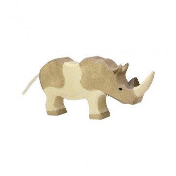 Rhinocéros en bois - Holztiger