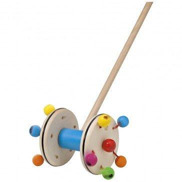 Jouet en bois à pousser Roller - Selecta