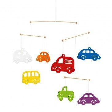 Mobile Véhicules colorés - Selecta