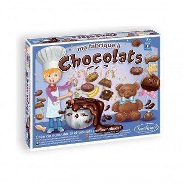 Kit créatif alimentaire - Fabrique à chocolats - Sentosphère
