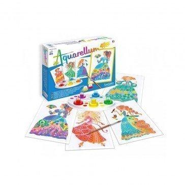 Aquarellum Junior - Princesses Fleurs - Sentosphère