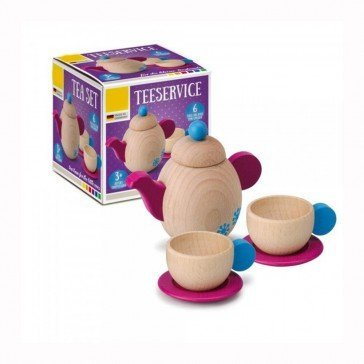 Service à thé en bois - Fabricant allemand