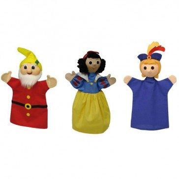 Set Marionnettes Blanche Neige - Artisan Tchèque