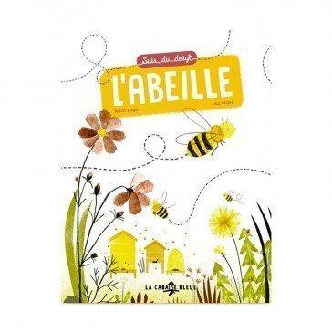 Livre - Suis du doigt l'abeille - La Cabane Bleue Éditions